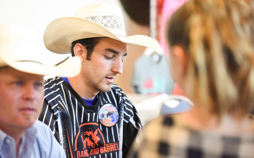 From drawing the short straw to bull fighting full-time, this is Jimmy Essary.
