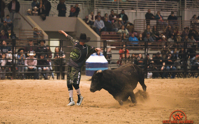 A protector of bull riders: This is Knox Dunn